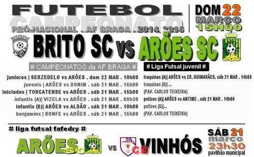 cartaz BRITO vs ARÕES 22 MAR 2015.jpg