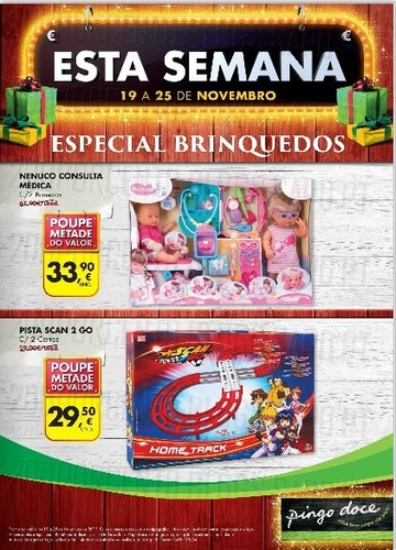 Novo Folheto | PINGO DOCE | Especial Brinquedos de 19 a 25 Novembro