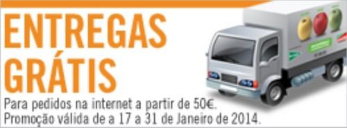 Oferta Taxa entrega   EL CORTE INGLÉS   até 31 janeiro