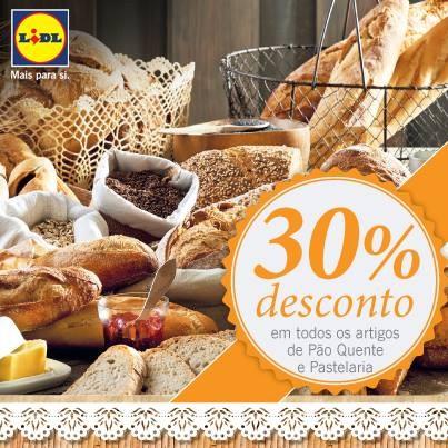 30% de desconto | LIDL | Padaria e Pastelaria