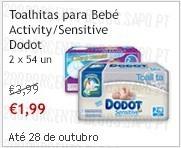 Super-Preço    CONTINENTE   Toalhitas Dodot