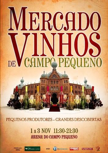 Feira de vinhos | CAMPO PEQUENO | de 1 a 3 novembro