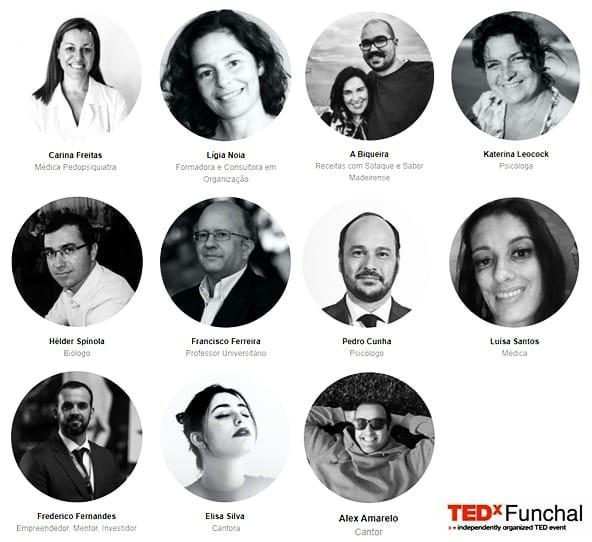 2 - Todos os Oradores TEDx Funchal 2020.jpg