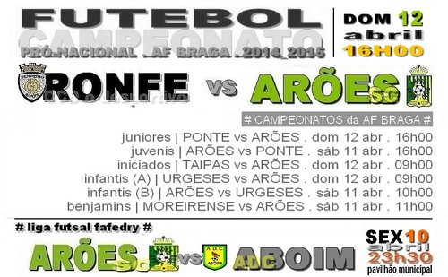 cartaz RONFE vs ARÕES 12 ABRIL 2015.jpg