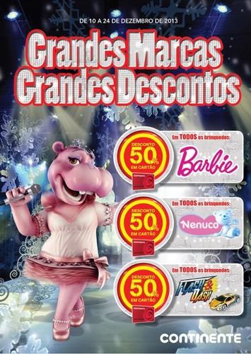 Folheto 50% Brinquedos | CONTINENTE | Online