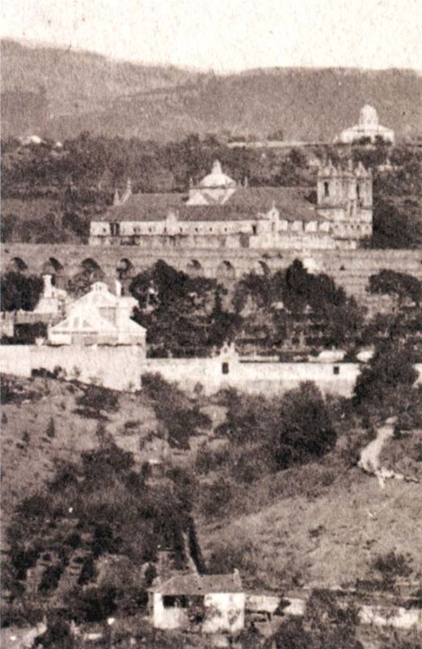 Fig. 42. Colégio de Tomar. 1870. [Monumentos, 25,