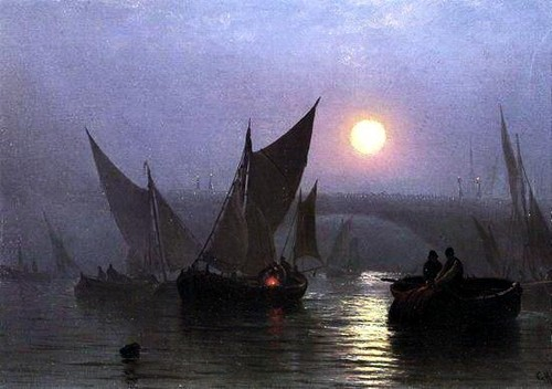 Charles Henry Gifford - Battersea Bridge, London