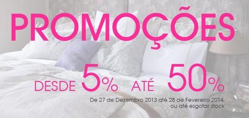 Promoções | ZARA HOME | de 5% a 50% desconto