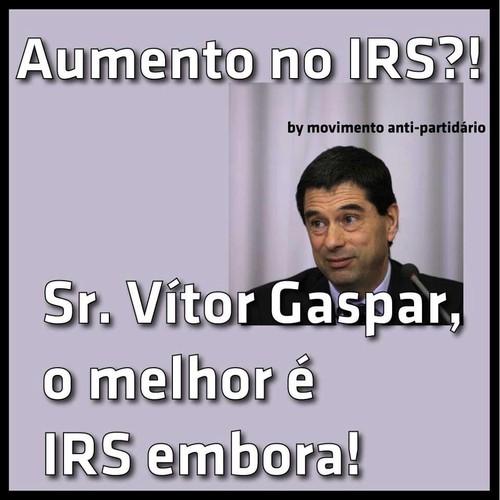 Gaspar, aumento do IRS
