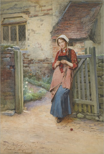 carlton-alfred-smith-1853-1946-at-the-garden-gate_