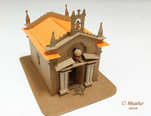 Vila de Cerva - Maquete Capela de São Sebastião