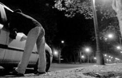 Engates de gays no Parque Eduardo VII em Lisboa