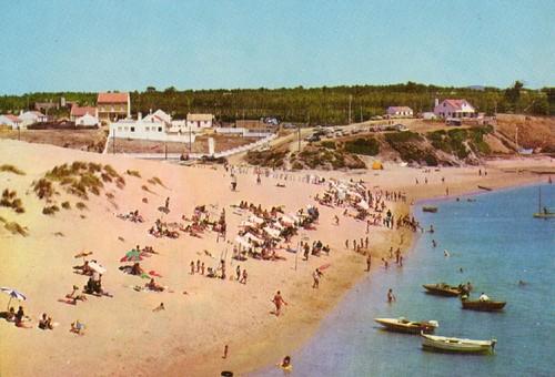1965 - ca - Postal Praia da Franquia. ZZZZzzzzzz +