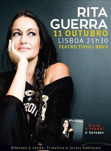 Rita Guerra VOLTA aos palcos de Lisboa - Teatro Tivoli 11 de Outubro