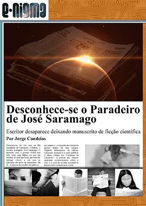 Desconhece-se o Paradeiro de José Saramago