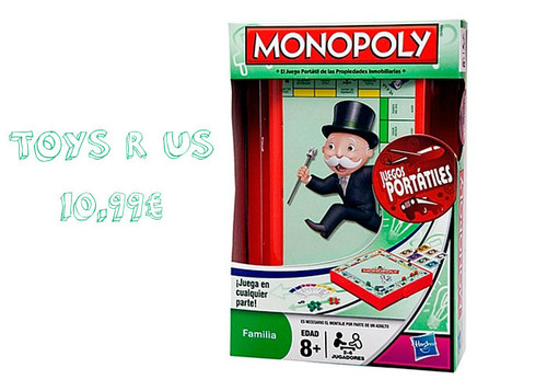 Monopólio de Viagem - Toys r us