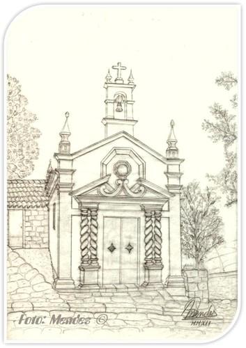 Cerva - Capela de São Sebastião - 1925
