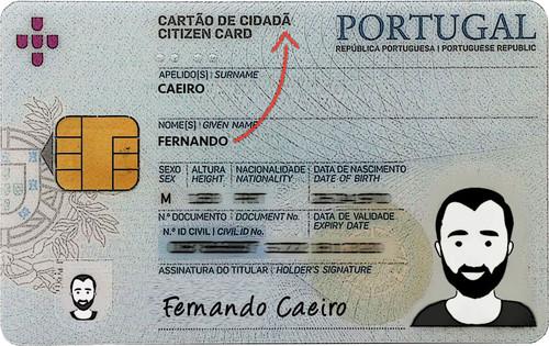 Cartão de Cidadã?