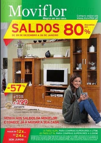 Novo folheto Saldos| MOVIFLOR | Janeiro 2014
