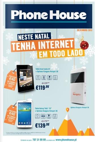 Novos Folhetos | PHONE HOUSE | , Natal - Dezembro