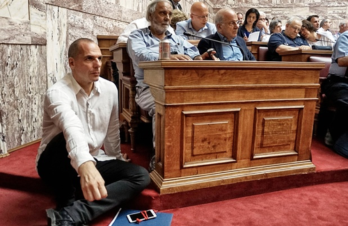varoufakis, foto  de Milos BicanskiGetty Images.pn