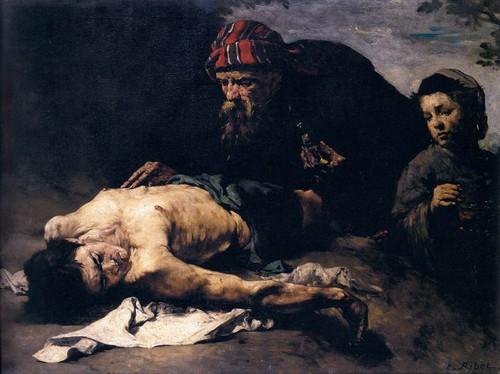Théodule-Augustin_Ribot_-_The_Good_Samaritan_-_WG
