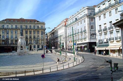 Lisboa pombalina - Largo do Camões