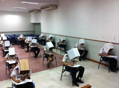 a Vigilância de exames segundo Nuno Crato