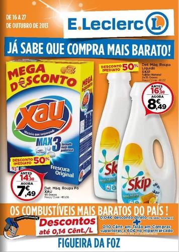 Antevisão Folheto E-Leclerc, Figueira, 16 a 27 Outubro,