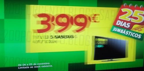 Promoções   JUMBO   Avistado TV, de 4 a 5 novembro
