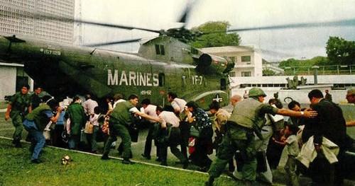 Guerra Vietnam evacuação embaixada EUA 30Abr1975
