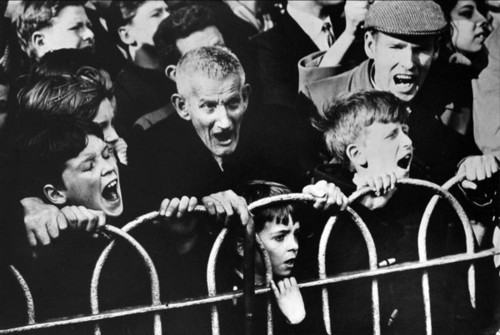 Crowd, Cup Tie - Arsenal v Liverpool, 1963.jpg