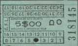 Bilhete de 5$00, Carris, 1978