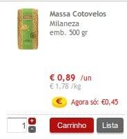 Acumulação Super-Preço + 50%   CONTINENTE  