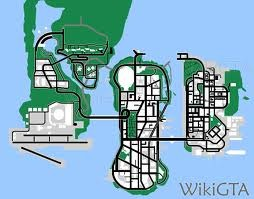 Mapa GTA LCS