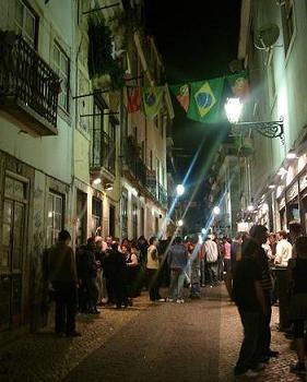 Lisboa - Bairro Alto à noite