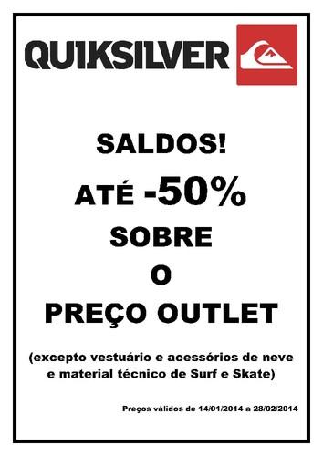 até 50% de desconto sobre preço Outlet   FREEPORT   até 28 fevereiro