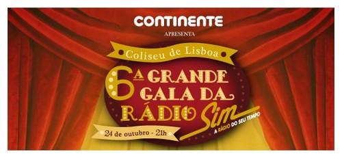 Grande Gala da Rádio SIM dedicada à Revista