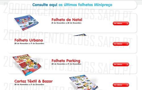 Novos Folhetos   MINI PREÇO   Já Online, de 28 novembro a 11 dezembro