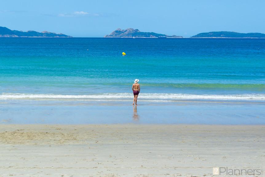 The 2 Planners - Samil beach - Vigo - Galicia Spain