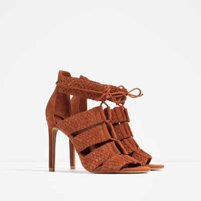 Os 10 sapatos mais giros da nova coleção da Zara Meu Doce