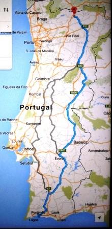 estrada nacional 2 mapa Estrada Nacional nº. 2   divagares estrada nacional 2 mapa