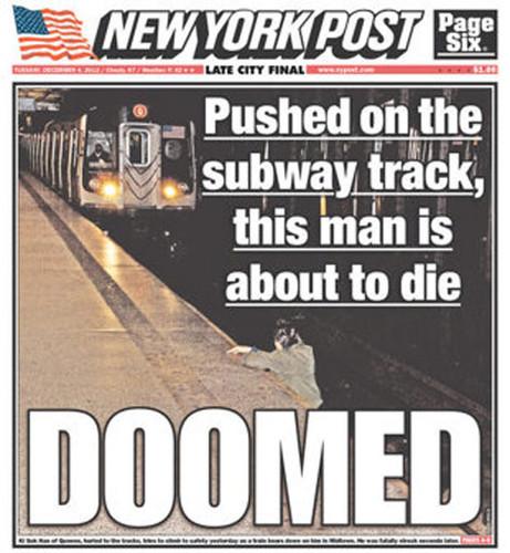 Homem morre atropelado pelo metro enquanto as pessoas veem