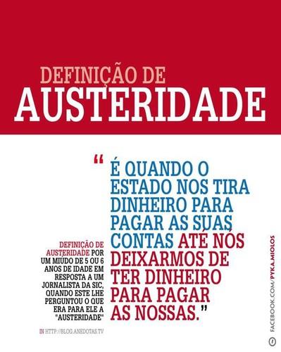 Definição de austeridade