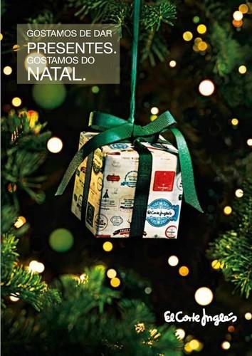 Novo folheto   EL CORTE INGLÉS   Gostamos de dar presentes