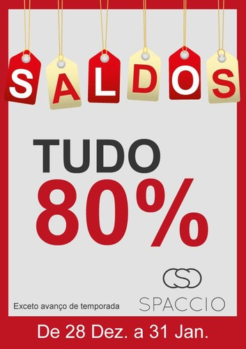Saldos 80% de desconto | FREEPORT | Spaccio