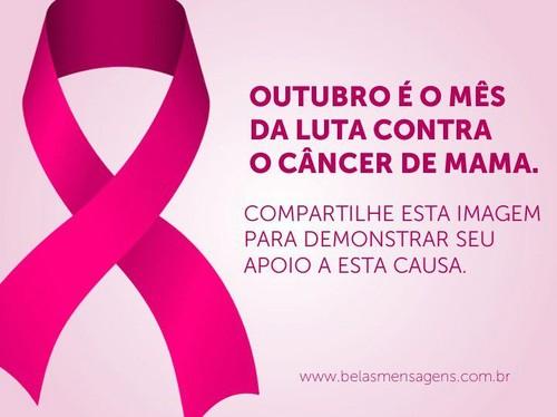 Outubro é o mês contra o cancro
