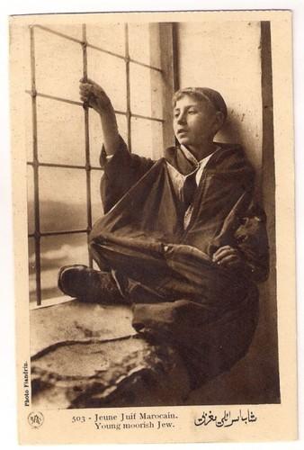 Moço judeu marroquino (Photo Flandrin, s.d.)