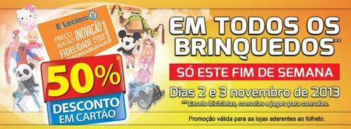 50% em Brinquedos | E-LECLERC |