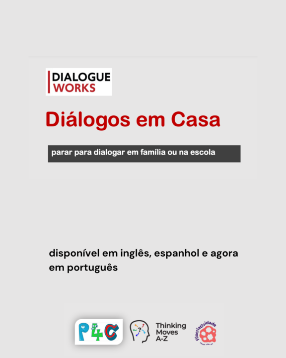 diálogos em casa - propostas para pensar em família ou na escola